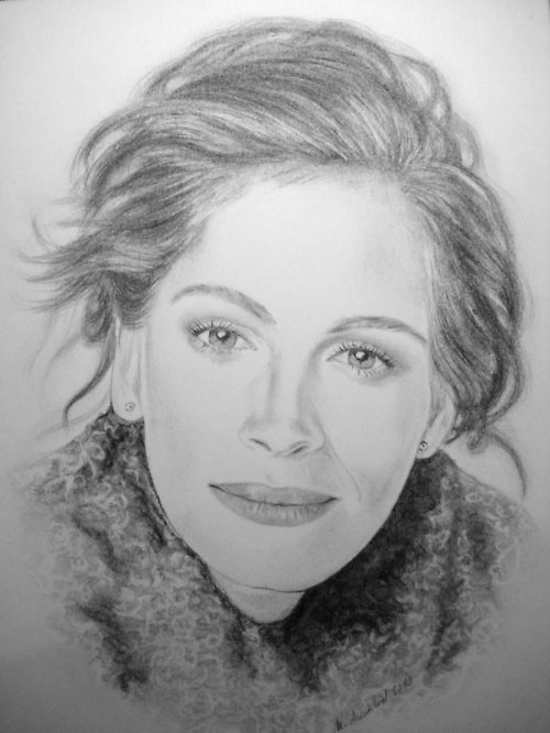 Portrét Julia - tužka A4