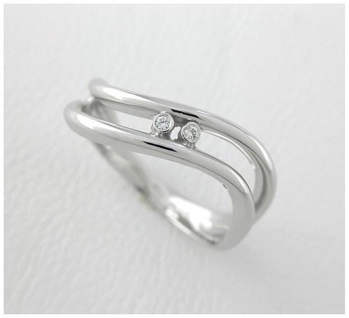"""Prsten \""""Vlnky v moři\"""""""
