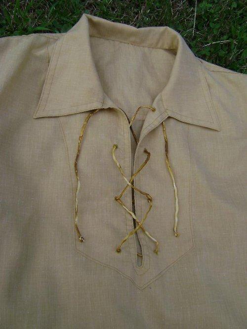 Okrová košile,vel.54