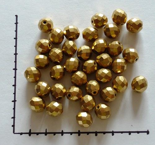 Ohňovky zlaté 10mm, 18ks