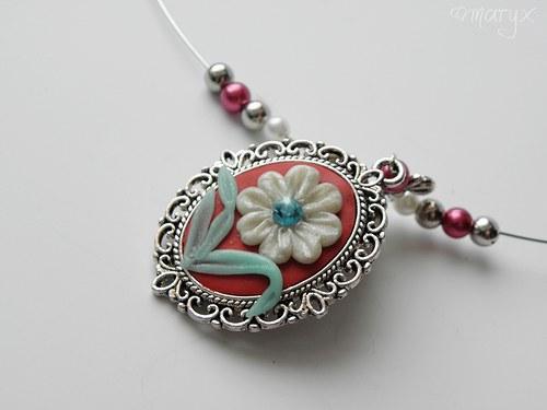 náhrdelník ´Vintage flower´