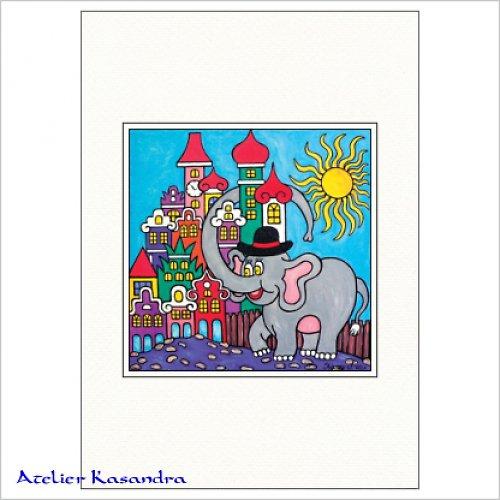 Pasparta A4 - Chudák slon ve městě