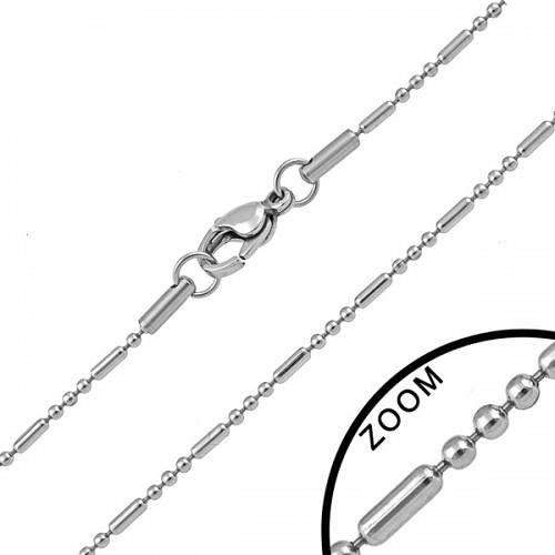Řetízek z chirurgické oceli - 47 cm