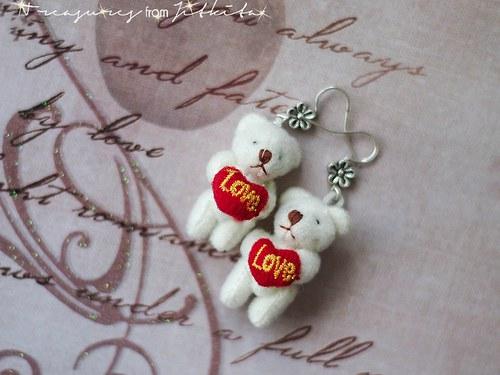 zamilovaní medvídci