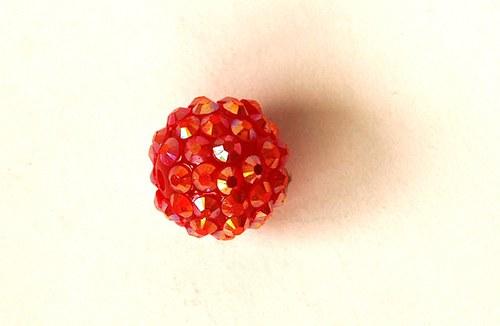 Kulička 16mm - červená