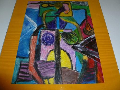 Obraz - abstrakce (R111)