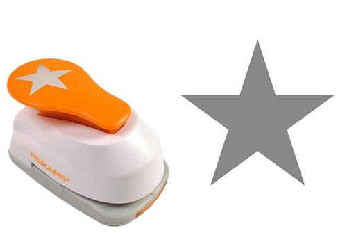 Ozdobná děrovačka Fiskars - hvězda