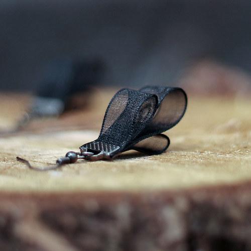 Black Leaf - náušnice