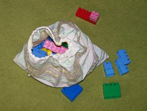 pytlík na hračky