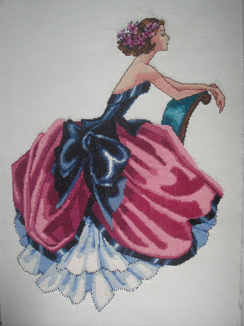 Vyšívaný obraz Elizabeth