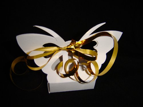 "Krabička \""Srdcový motýlek\"""