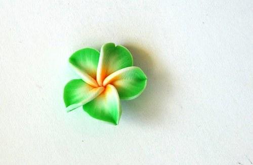 Fimo květ 8x20mm