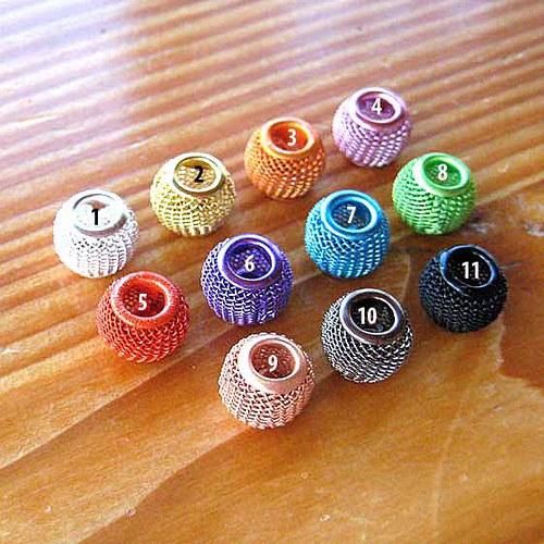 Pletená Kulička 12mm - Růžová č.4