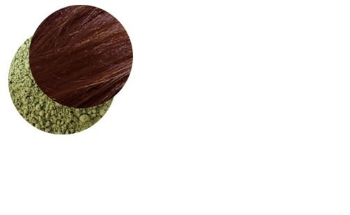 Přírodní barva na vlasy s henou-granátová