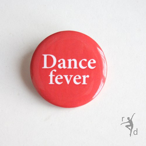 Placka DANCE FEVER
