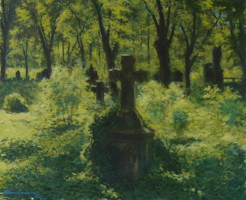 jan Severa - Opuštěný hřbitov