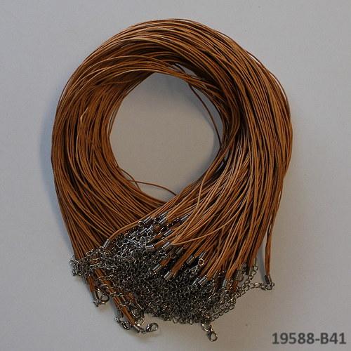19588-B14 Voskovaná šňůrka (5/0) KARAMEL