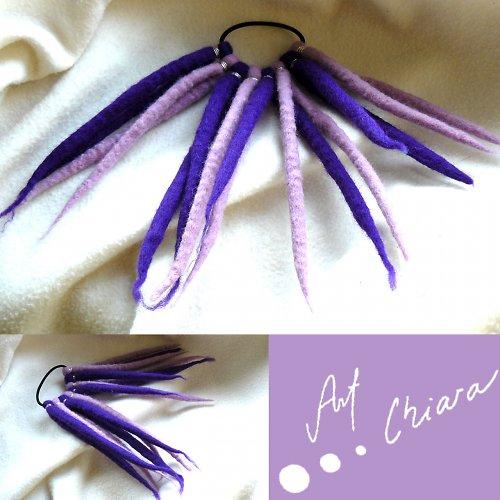 Dredy lila_fialová