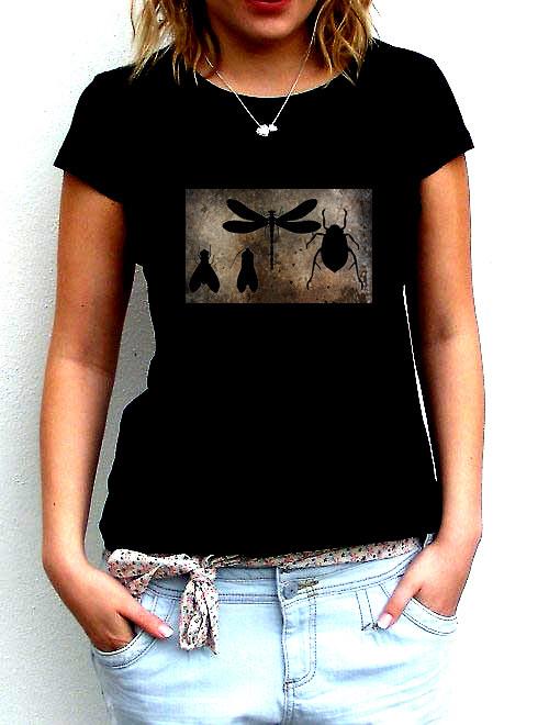 Dámské tričko,,Nech brouka...,,