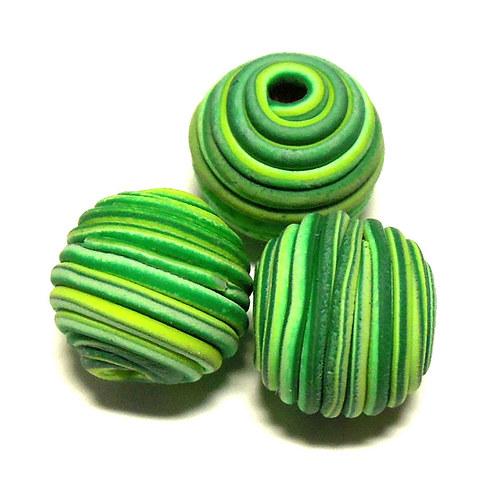 Tornádo - zelená limetka - 14 mm