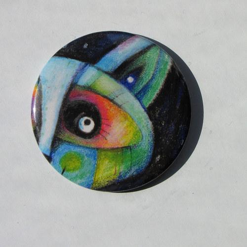 Na papíru od rozmar - Ucho... magnet VELKÝ