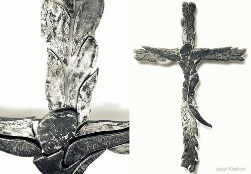 """Kovaný kříž \""""GENERALI\"""""""