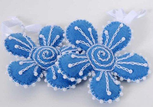 modrá kytička...