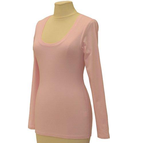 Růžové tričko belaroma dlouhý rukáv