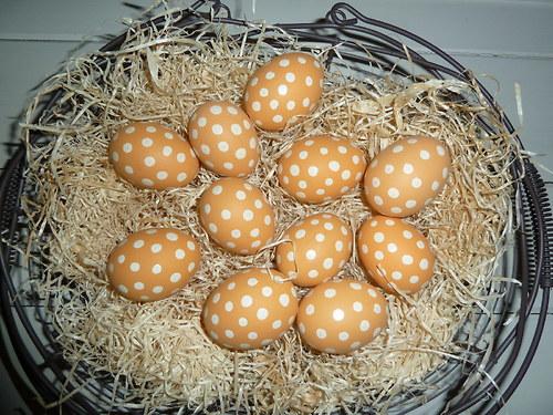 vajíčko -puntíkatá mandarinka