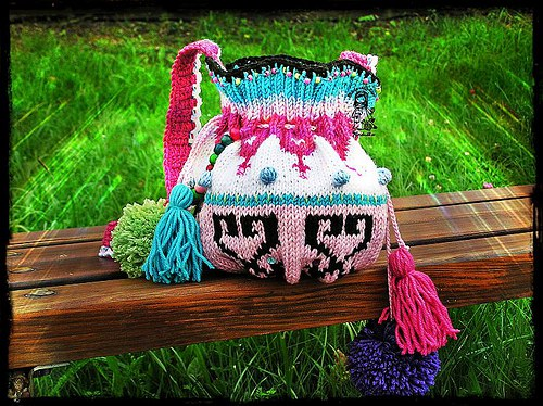 Bambulková kabelka pro veselé holčičky - návod