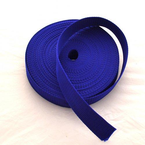 Popruh POP 3 cm - modrá střední