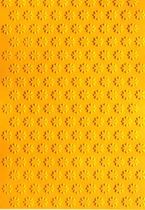 Pravidelné kytičky - stránka A6