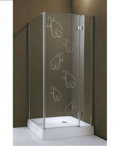 (217g) Nálepka na sprchovací kút