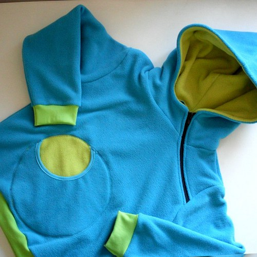 BLUE&...  - fleecová mikina