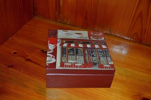 Krabička, šperkovnice - obchody