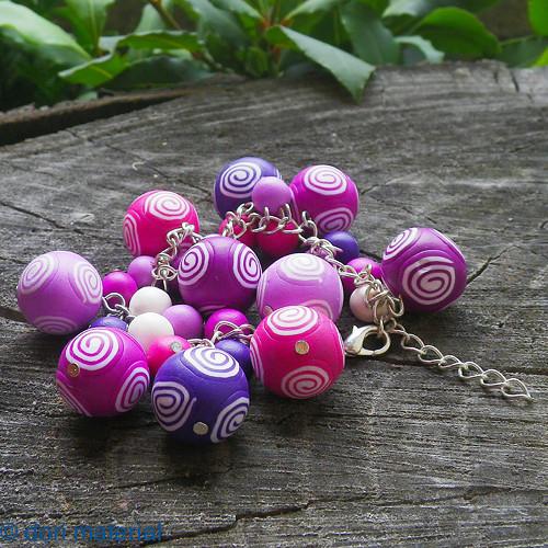 ružové kudrlinky / tučné