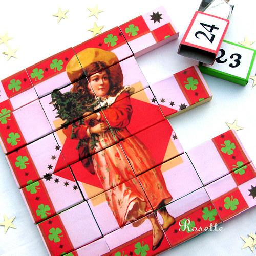 Cesta do Vánoc - vánoční puzzle 2 / adv.kalendář