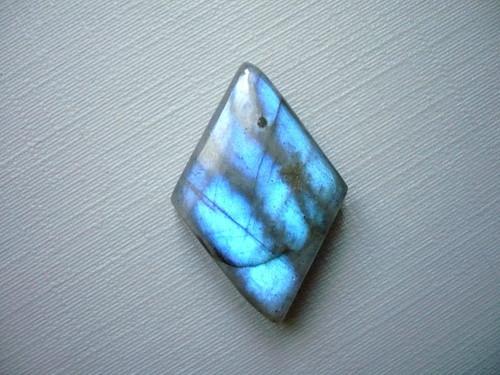 Kabošon - labradorit modrý 27 mm, č.111