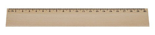 Dřevěné pravítko DL22