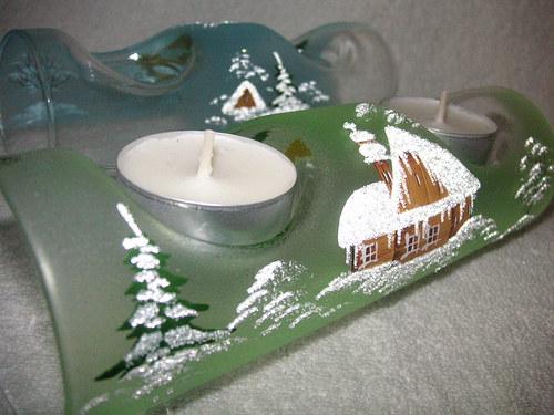 Na 2 svíčky...sv.zelený