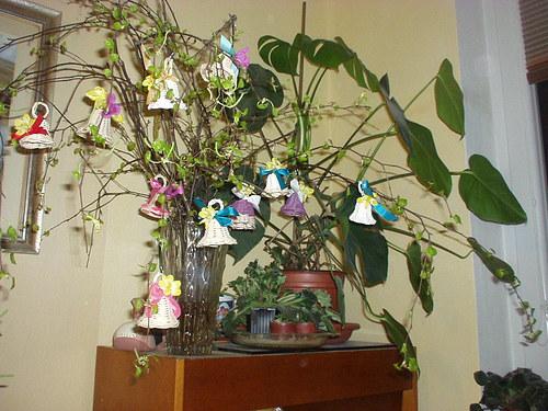 velikonoční zvonečky nebo  svatební zvonky štěstí