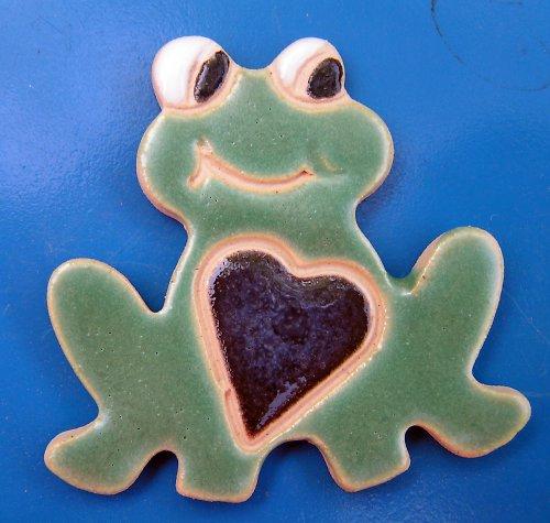 Žabka zamilovaná se srdcem
