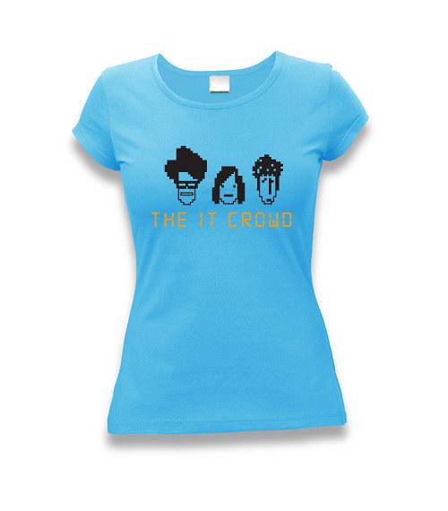 The IT Crowd - dámské tričko s potiskem