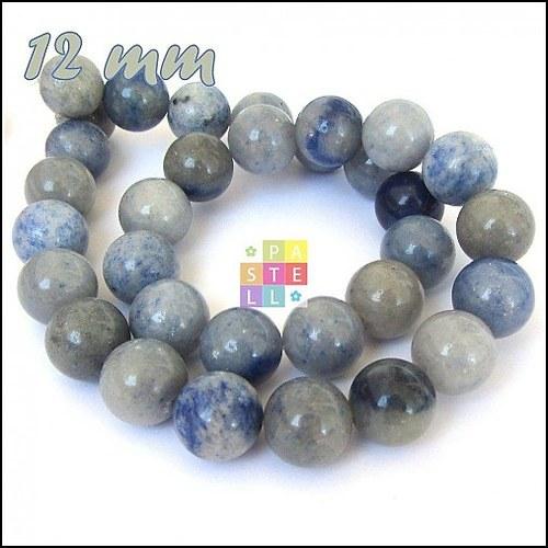 (0652) Modrý Aventurín, 12 mm - 1 ks