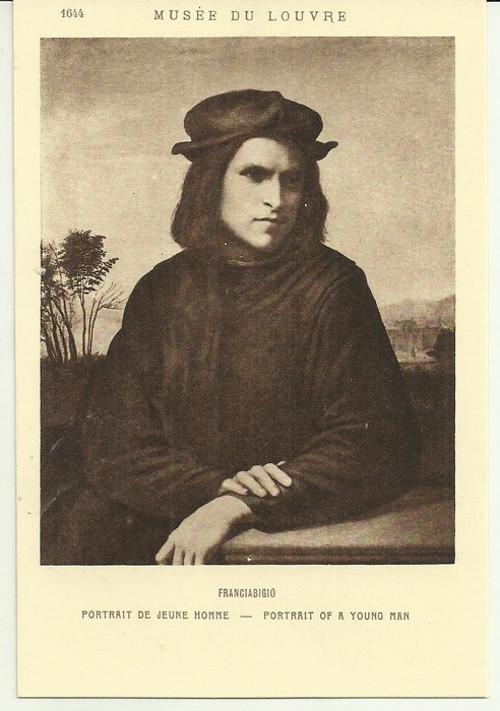 Umělecká pohlednice Franciabigio
