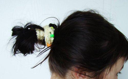 Motanice - nákrčník - i do vlasů