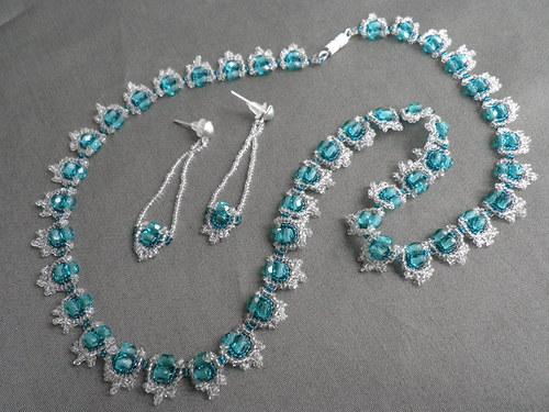náhrdelník + náušnice S1