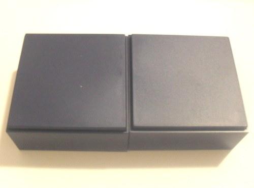 plastová krabička  8x8x3 cm