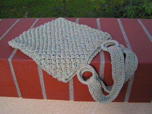 Pletená taštička