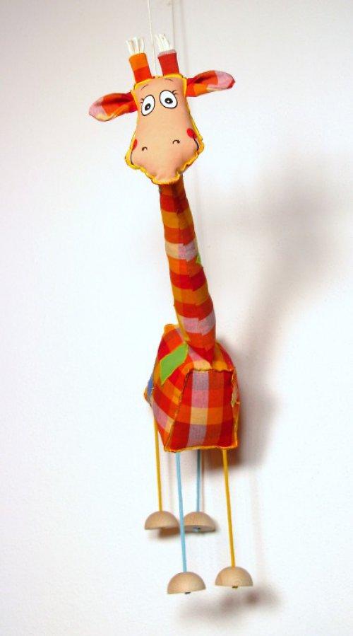 Tmx 006 Žirafa loutka
